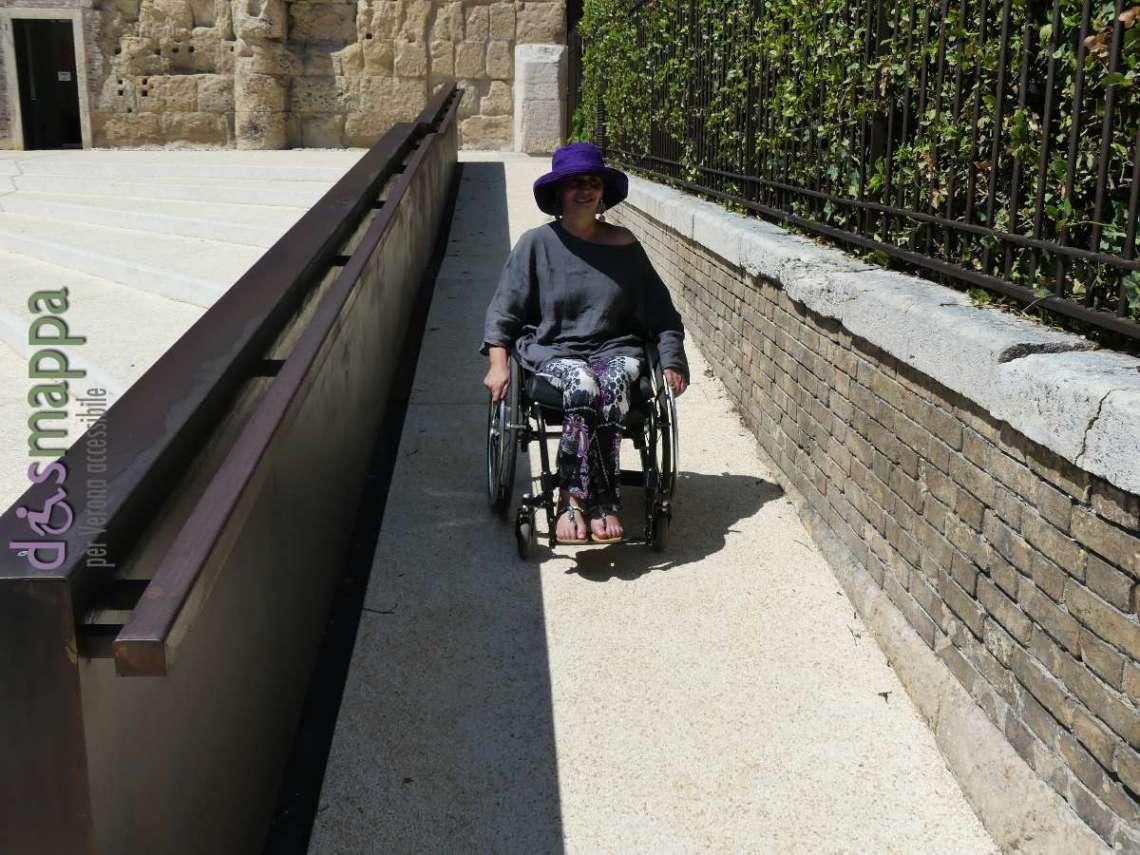 20170730 Rampa disabili entrata Museo archeologico Teatro Romano Verona 015