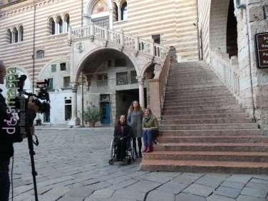 20171025 Elena Chemello rai3 alessia bottone Verona accessibile ph dismappa 338