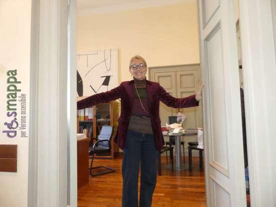 Francesca Briani, assessore a Cultura, Turismo e Pari opportunità del Comune di Verona apre le porte di palazzo barbieri ai cittadini veronesi
