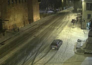 20171210 Castelvecchio Verona neve webcam