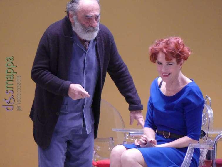 20171212 Alessandro Haber Lucrezia Lante Della Rovere teatro Verona ph dismappa 409