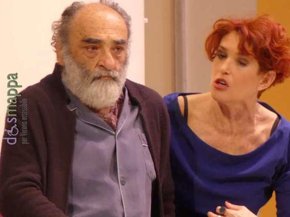 20171212 Alessandro Haber Lucrezia Lante Della Rovere teatro Verona ph dismappa 412