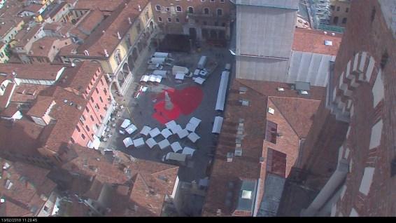 20180213 Piazza Dante cuore San Valentino Verona in love webcam 04