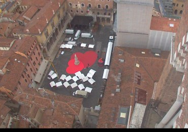 20180213 Piazza Dante cuore San Valentino Verona in love webcam 06