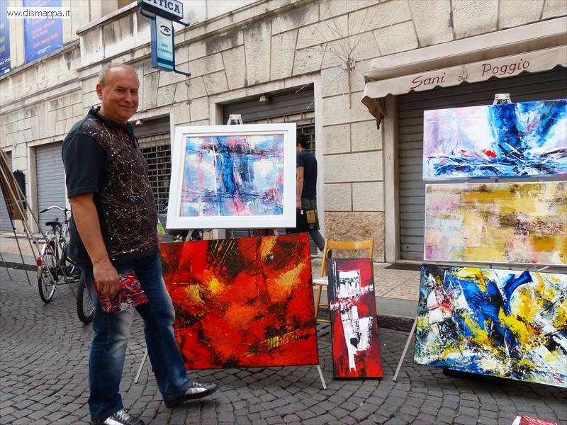 Verona in arte - Via Roma