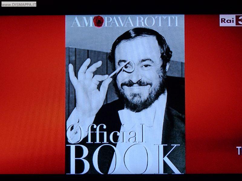 AMO Pavarotti - Copertina catalogo della mostra a Verona