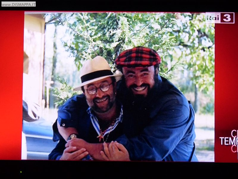 AMO Pavarotti - Pavarotti con Lucio Dalla