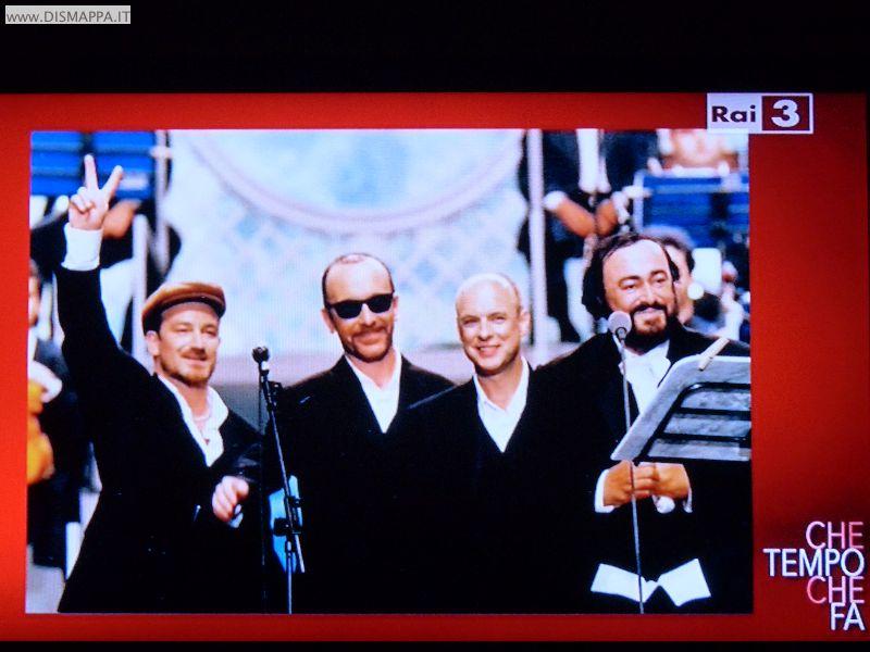 AMO Pavarotti - Pavarotti con gli U2