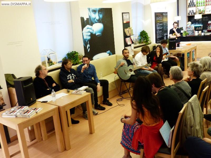 """Verona presentazione del libro di Francesco Bommartini """"Riserva indipendente, la musica italiana degli anni Zero"""""""