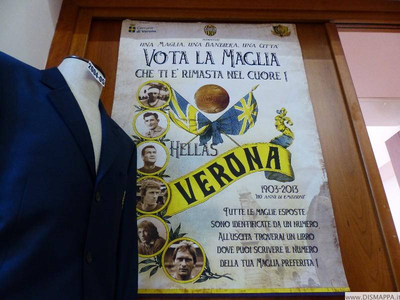 """MOSTRA """"110 ANNI DI STORIA DELL'HELLAS VERONA"""""""