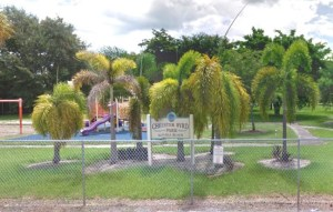 Dismas Charities Dania Beach Residents Volunteer At Chester Byrd Park Rededication