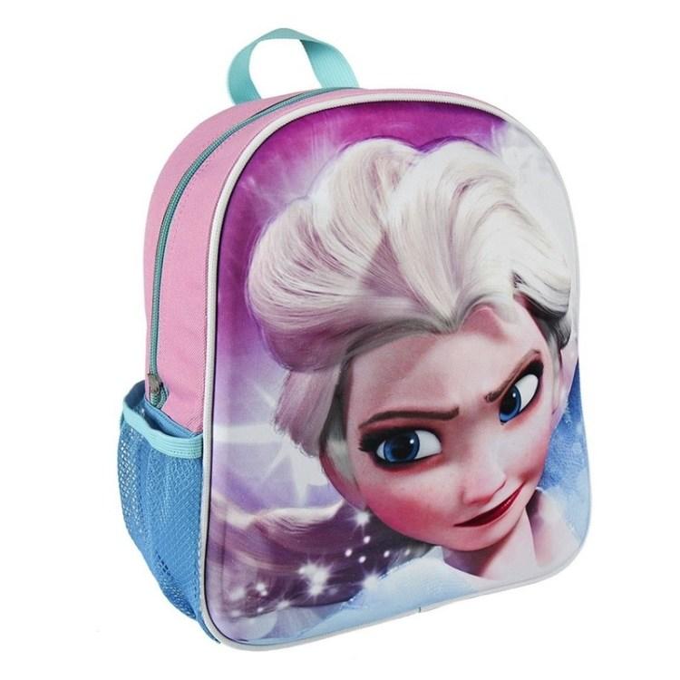 Frozen Elsa 3D rugtasje roze voor kinderen