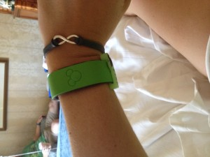 Green will always be my Magic Band color of choice!