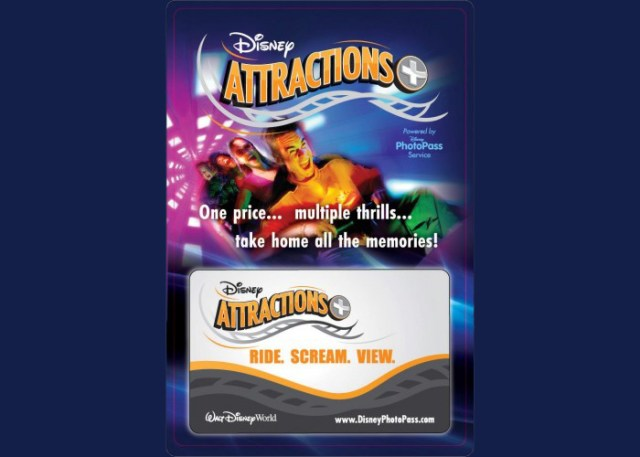 Attractions+ card