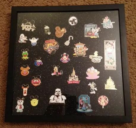 Disney DIY – Disney Pin Displays 2
