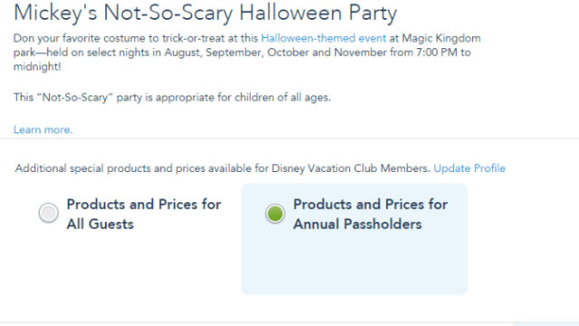 Halloween and Christmas Party Discount