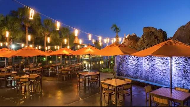 Trader Sams Tiki Terrace Restaurant