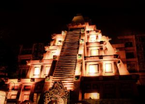 The Mexico pavilion is a cool attraction for toddlers at Epcot.