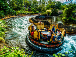 Staying Cool at Disney World in Kali River Rapids