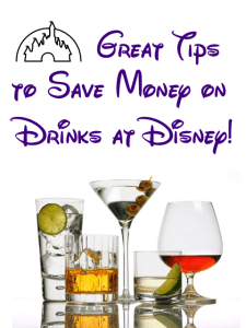 Stock alcohol in your room to save money on drinks at disney