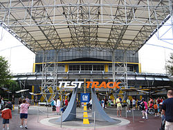 test track is one of the best rides for adults at epcot