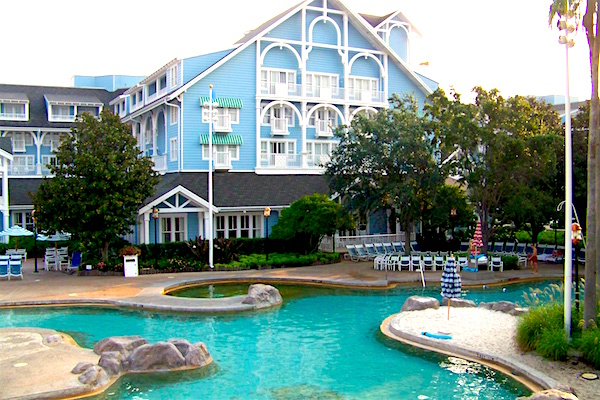 beach club - best disney world resort for adults