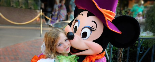 what is the best age for disney world - girl with mickey