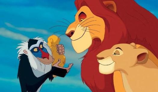 mufasa sarabi der könig der löwen