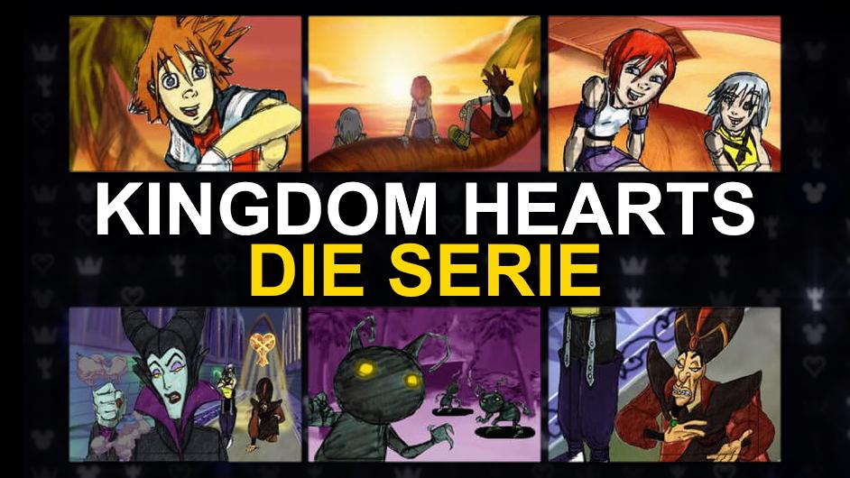 Kingdom Hearts Die Serie