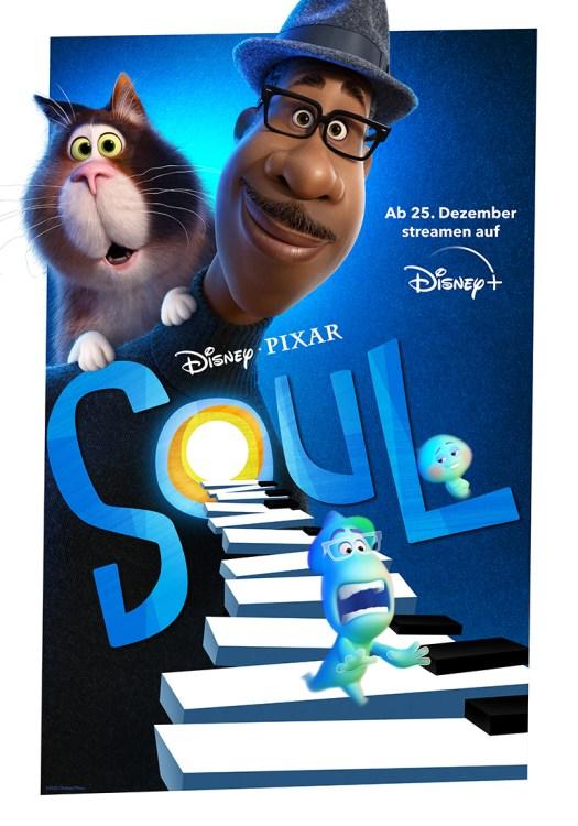 "Poster zu Disney • Pixars ""SOUL"""