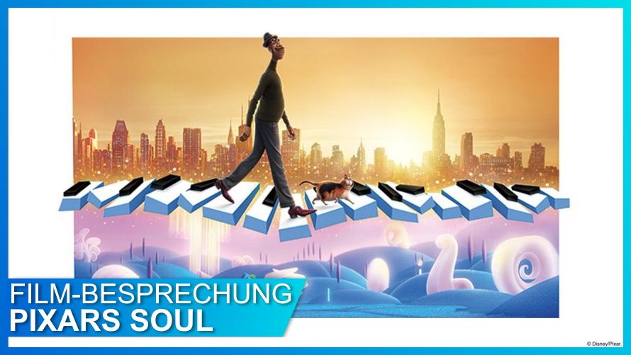 Pixar Soul Poster