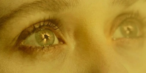 WandaVision Episode 8 Scarlet Witch In Mind Stone Eye Reflection