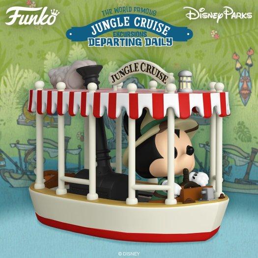 Funko Pop Jungle Cruise Skipper Mickey Mouse