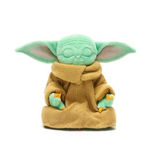 Grogu Baby Yoda Kind meditierend