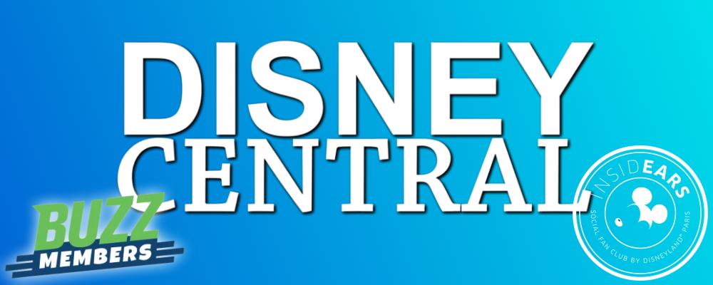 Disney Central Logo mit Buzz Member und InsidEars Logo