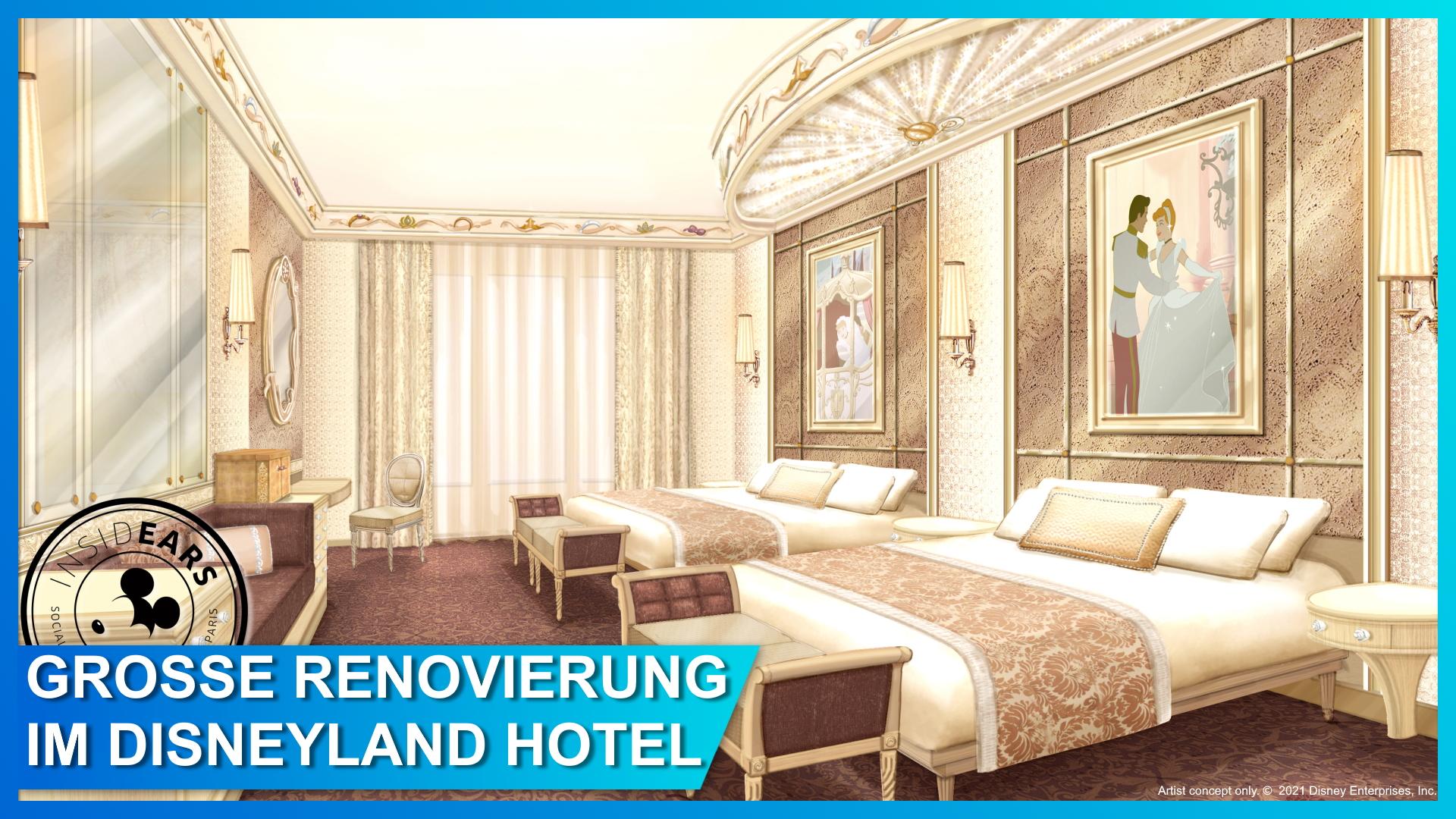 Disneyland Hotel 2022 retheming Paris
