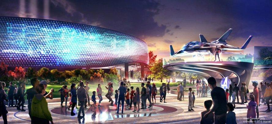 Disneyland Paris Avengers Campus concept