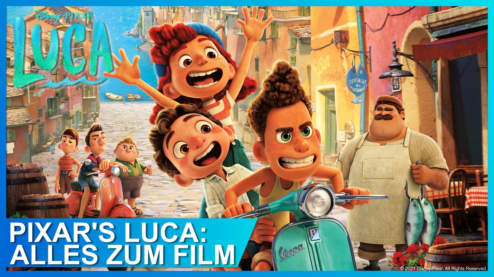 Pixars Reise nach Italien: Alle Infos über Luca und seine Freunde