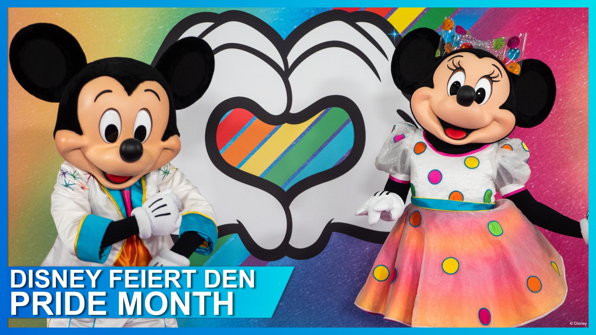 Disney feiert den Pride Month – seid dabei!