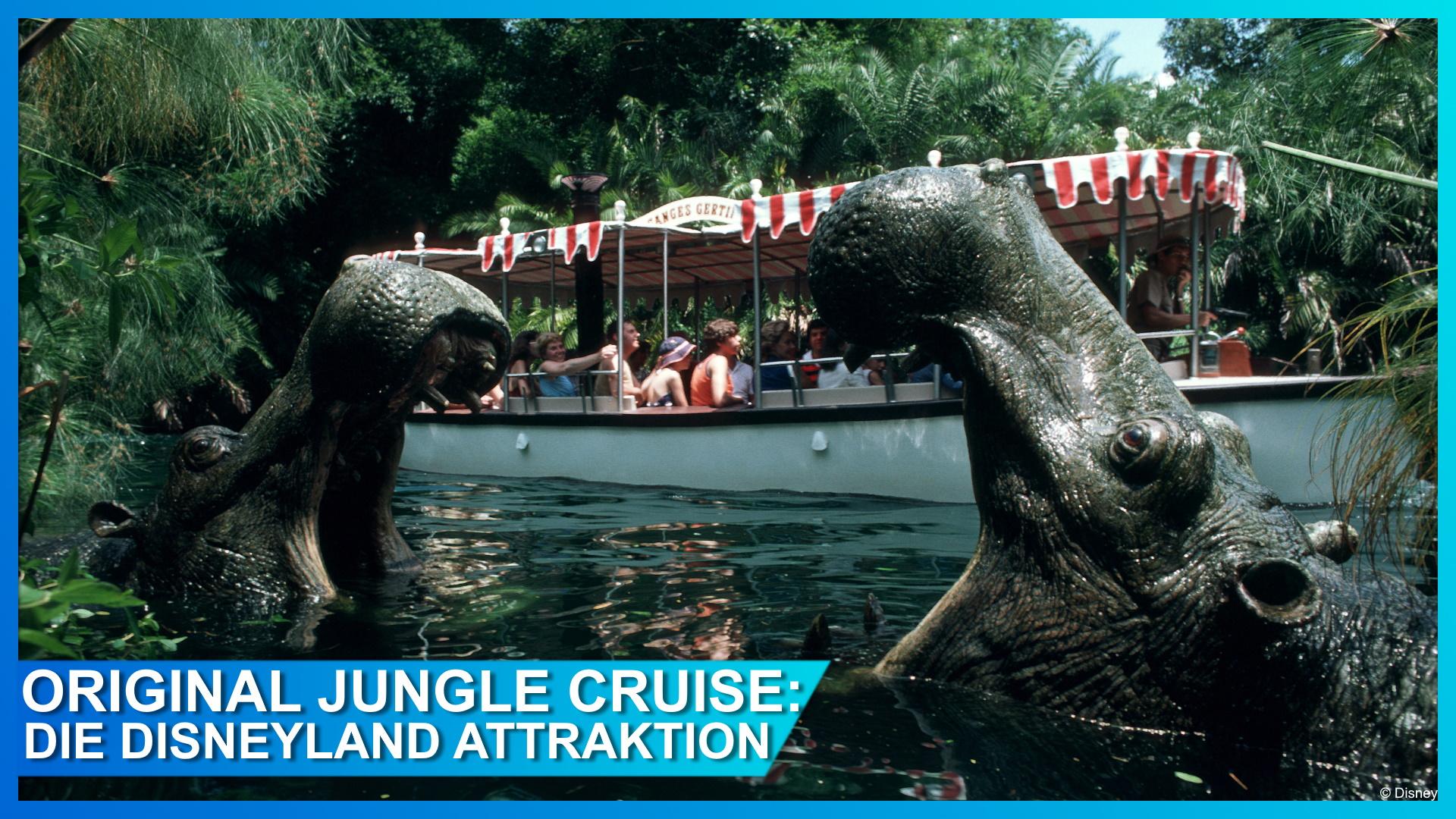 Jungle Cruise: Eine Opening Day Attraction wird zum Kino-Blockbuster