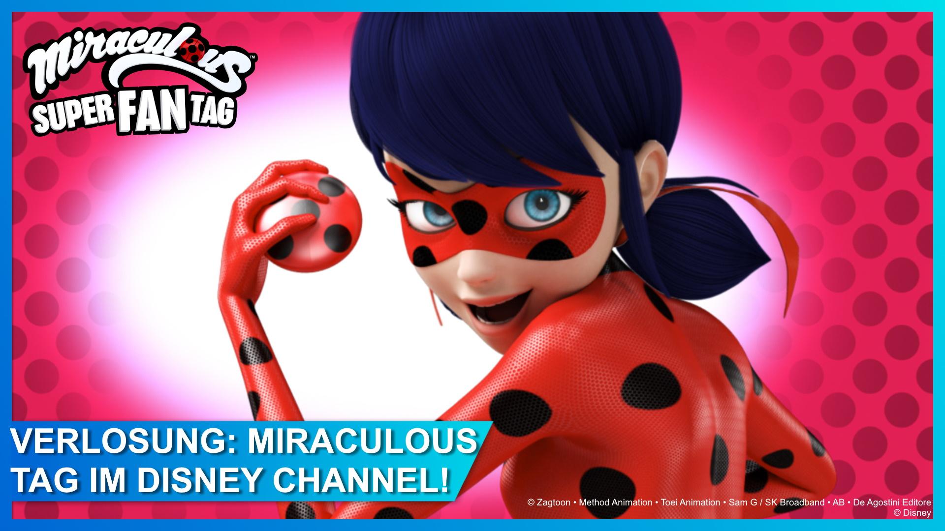 Gewinnspiel: Samstag ist MIRACULOUS Super-Fan-Tag im Disney Channel!