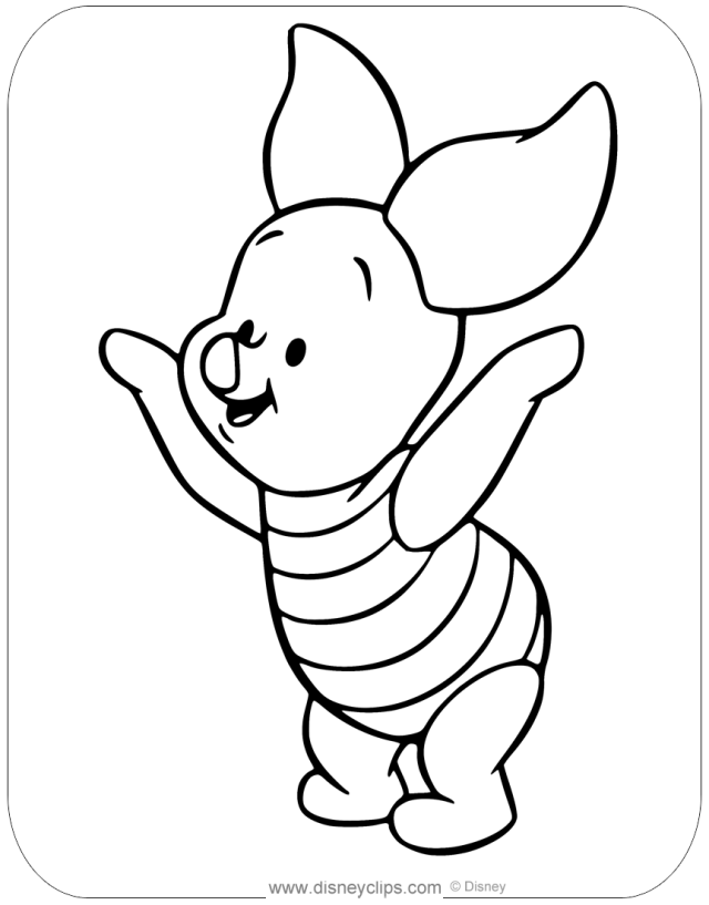 Baby Pooh Coloring Pages (15)  Disneyclips.com