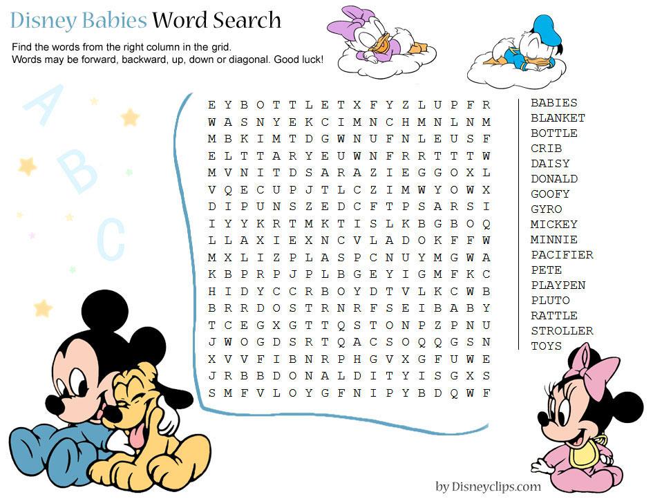 Valentine Printable Word Puzzles