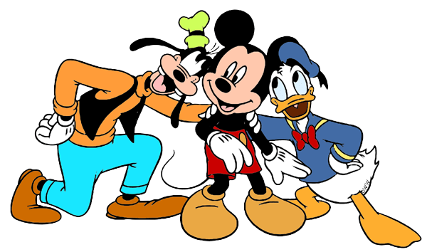Mickey, Donald and Goofy Clip Art 3 | Disney Clip Art Galore