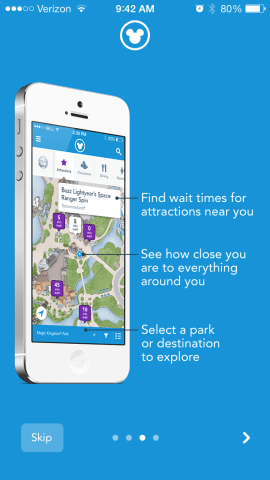 My Experience App - First Disney Trip