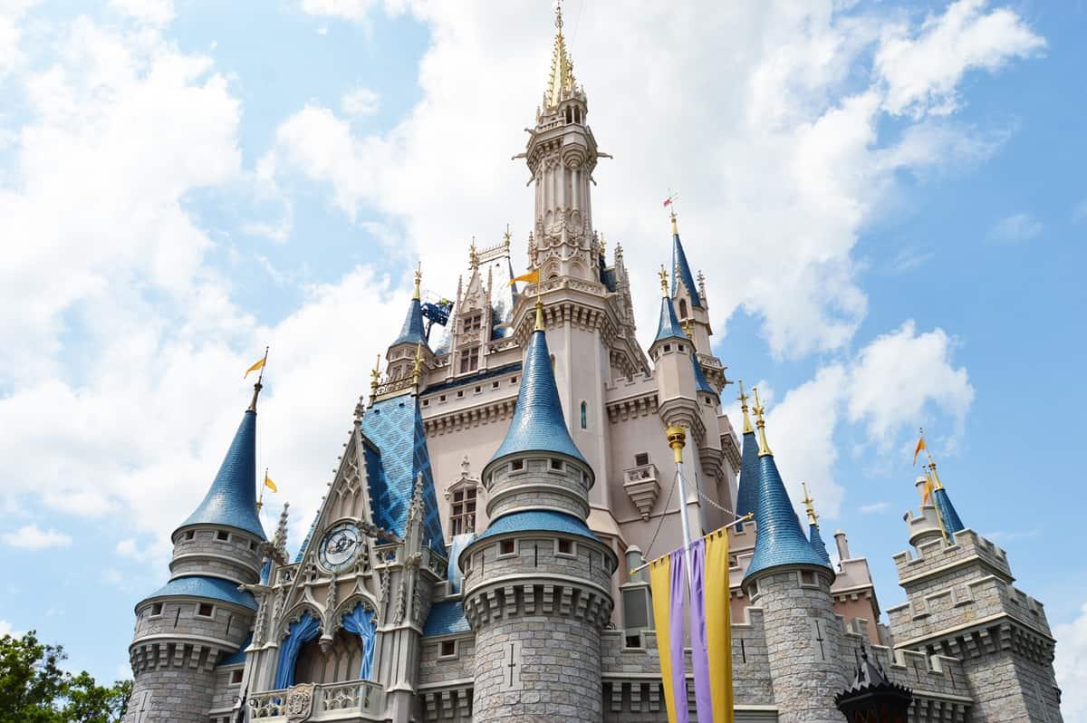 Cinderellas Castle Disney World Birthday Cake