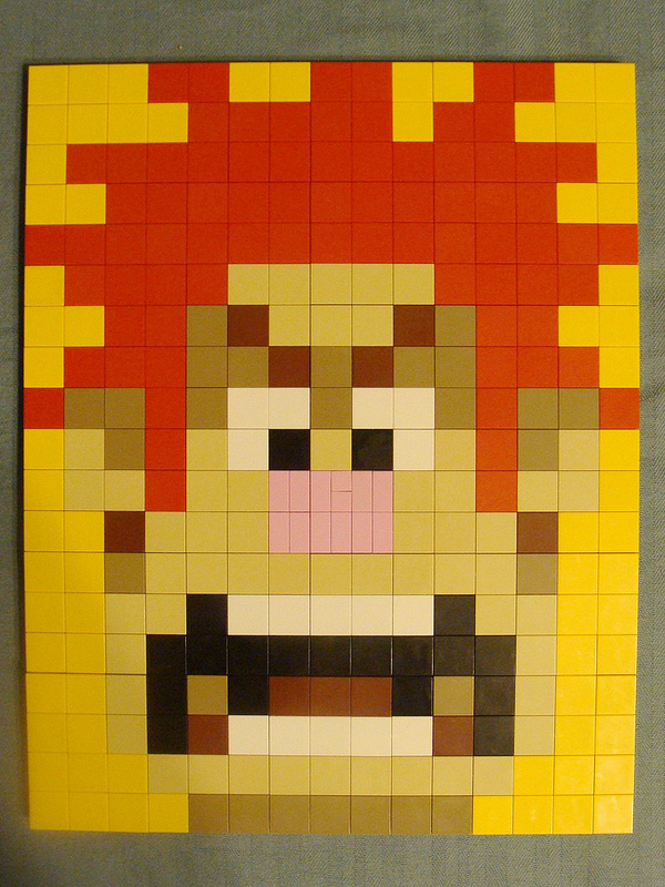 Disney Wreck it Ralph LEGO Mosaic   Disney Every Day Disney Wreck it Ralph LEGO Mosaic