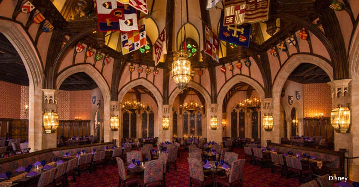 Disney Cinderella Royal Table Dining