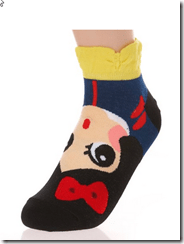 2015-02-10 03_08_26-Danischoice Cute Cartoon Character Socks Princess Series (5pair) at Amazon Women