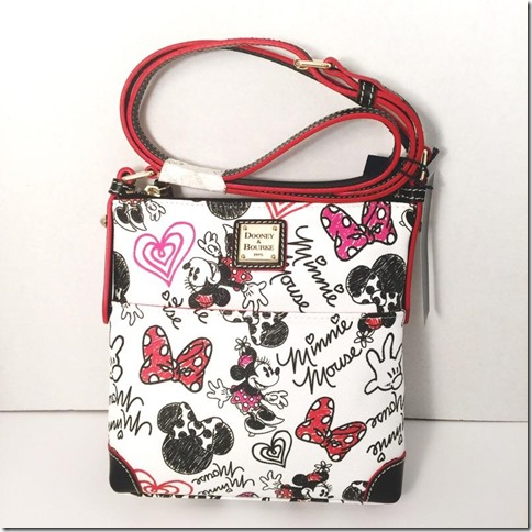 disney dooney and bourke hearts and bows